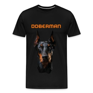 DOBERMAN - Mannen Premium T-shirt