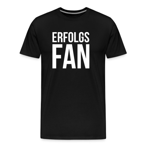 erfolgsfan_white - Männer Premium T-Shirt