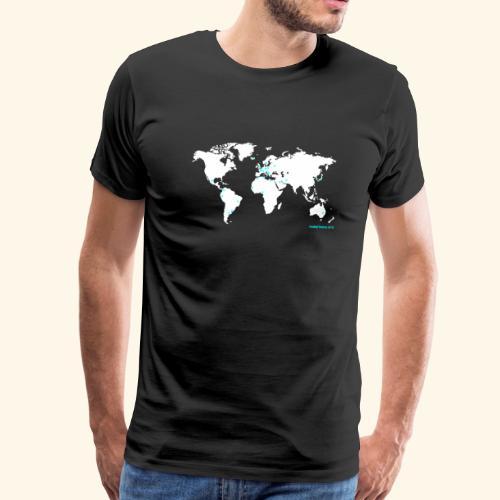 Football Nation MAP - Männer Premium T-Shirt