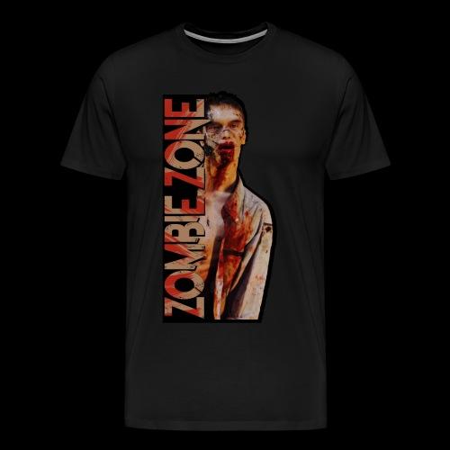 ZOMBIE ZONE - Männer Premium T-Shirt