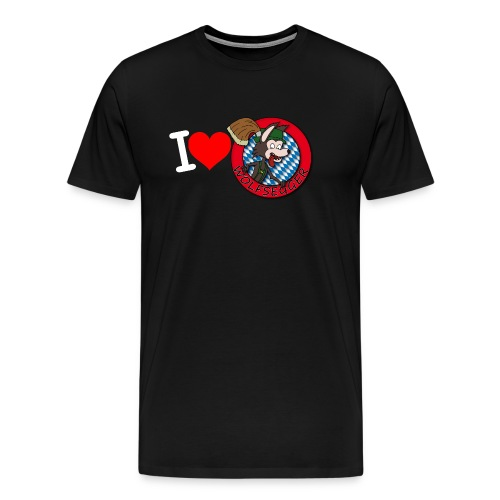 I love Wolfsegger - Männer Premium T-Shirt