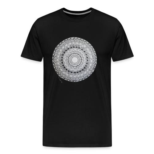 Mandala Black&White - Männer Premium T-Shirt