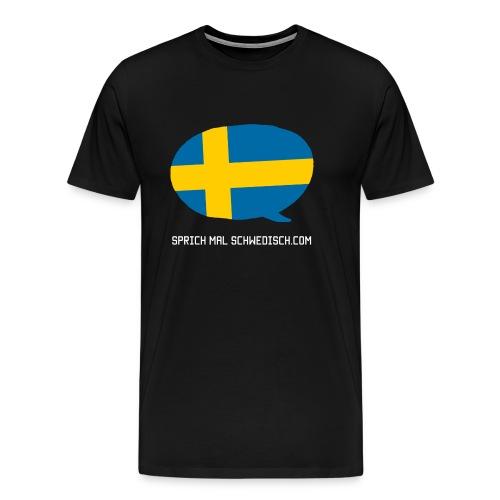 Sprich Motte Englisch - Männer Premium T-Shirt
