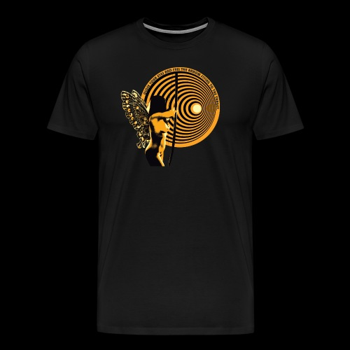 close your eyes - Men's Premium T-Shirt