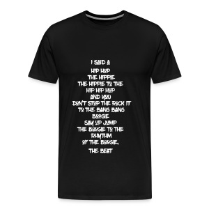 Hip Hop 1-2-3 - Men's Premium T-Shirt