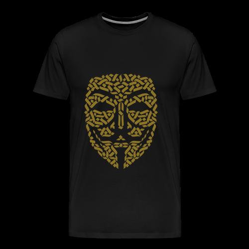 Anonymous Hacker - Männer Premium T-Shirt