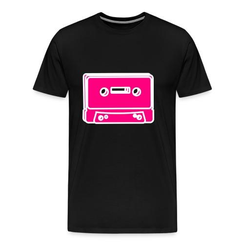Tape Cassette - Männer Premium T-Shirt