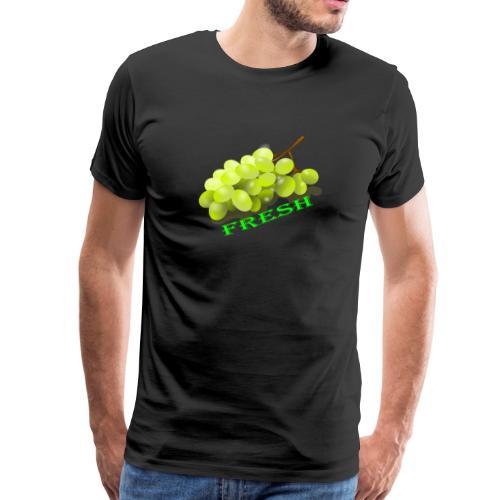 Weintrauben - Männer Premium T-Shirt