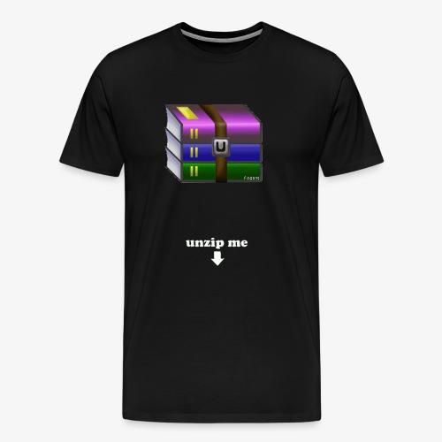 unzip me - T-shirt Premium Homme