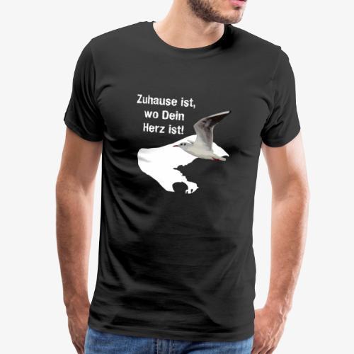 Borkum: Zuhause ist, wo Dein Herz ist! Geschenk - Männer Premium T-Shirt