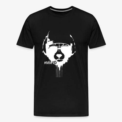 Tierkopf in Weis - Männer Premium T-Shirt