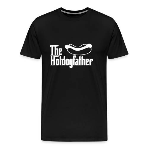 The Hotdogfather - Camiseta premium hombre