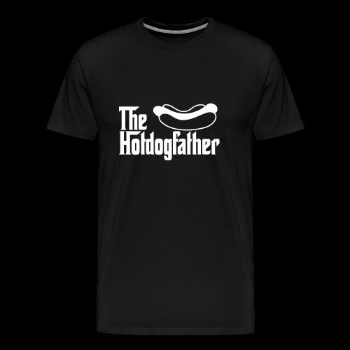 The Hotdogfather - Camiseta premium hombre