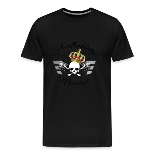LOGO mit gebogenem Schriftzug - Männer Premium T-Shirt