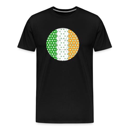 Fußball Flagge Irland - Männer Premium T-Shirt