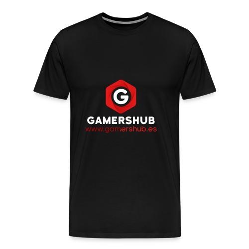 GamersHUB Oficial Promocional - Camiseta premium hombre