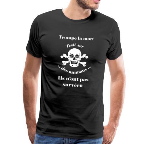 Trompe la mort «rieur» Test animal FS - T-shirt Premium Homme
