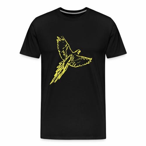 Yellow Bird - Männer Premium T-Shirt