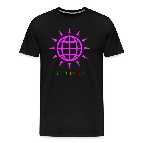 ART FOR THE WORLD / KUNST FÜR DIE WELT - Männer Premium T-Shirt