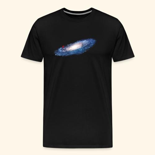 galaxy here are we (nasa) - Men's Premium T-Shirt