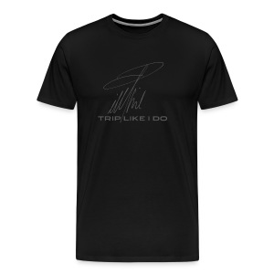 Signature Line - Trip like i do (dark gray) - Männer Premium T-Shirt