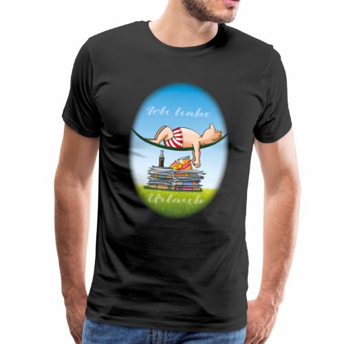 Urlaub 2018 - Männer Premium T-Shirt
