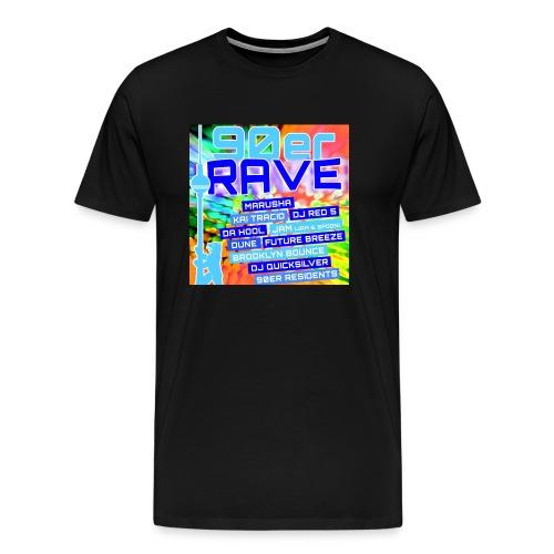 90erRave - Männer Premium T-Shirt