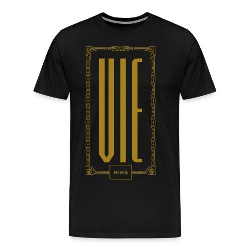 "Jardin d'Eden ""Ville Natale"" Vienna Gold - Männer Premium T-Shirt"
