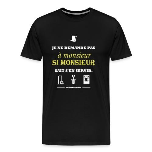 Citation Michel Audiard - T-shirt Premium Homme