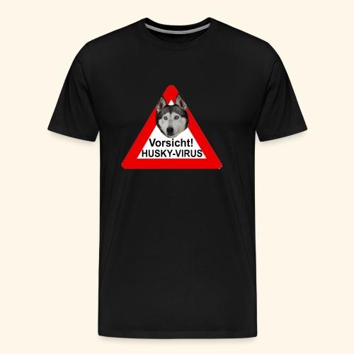 huskyvirus 1 - Männer Premium T-Shirt