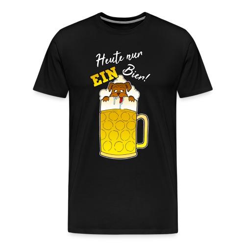 Bier Maß Oktoberfest Malle Geschenk - Männer Premium T-Shirt