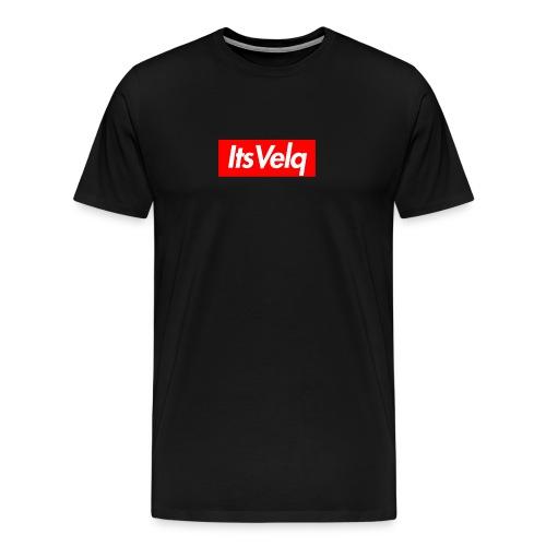 Velq Box Logo - Men's Premium T-Shirt