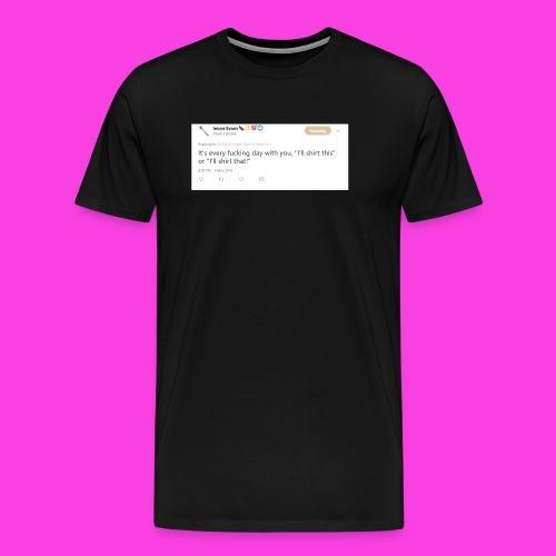 Ieuan Tweet - Men's Premium T-Shirt