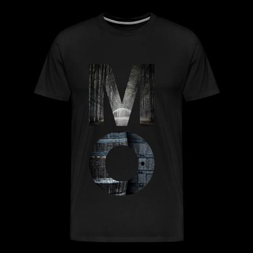 Moonshine Oversight - design épuré - T-shirt Premium Homme