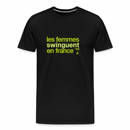Golf Féminin - Special edition. - Men's Premium T-Shirt