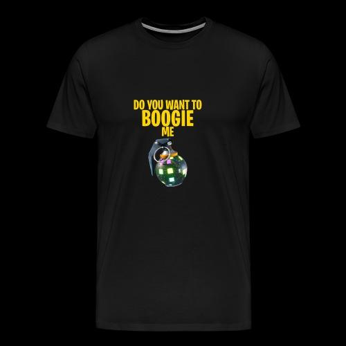 BOOGIE - Mannen Premium T-shirt