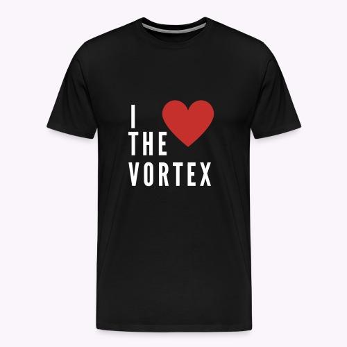 I LOVE THE VORTEX - Männer Premium T-Shirt