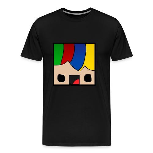 ProfSaurusCartoon - Männer Premium T-Shirt