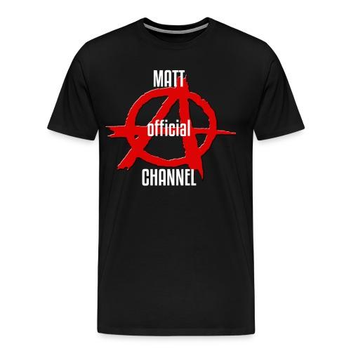 MATT official CHANNEL - Maglietta Premium da uomo
