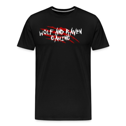 Wolf and Raven Scratches - Men's Premium T-Shirt