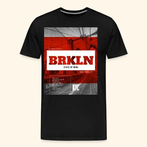 BRKLN - T-shirt Premium Homme