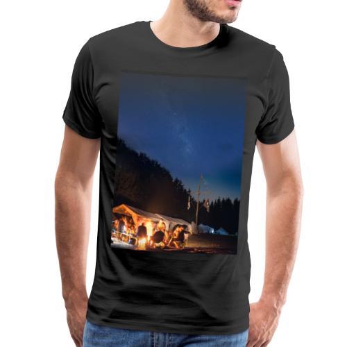 Lagerfeuer Oberthal - Liedmappen Cover - Männer Premium T-Shirt
