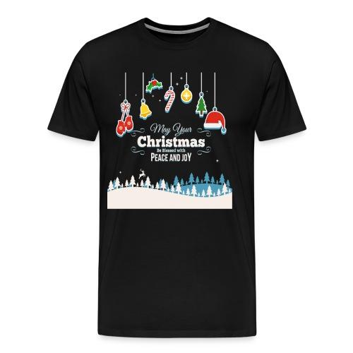 Christmas Peace and Joy - Männer Premium T-Shirt