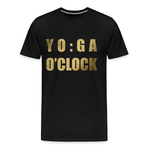 YOGA o'clock - Mannen Premium T-shirt