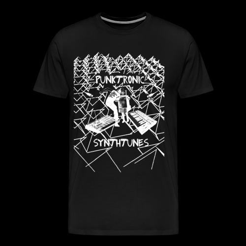 Punktronic Synthtunes - Männer Premium T-Shirt