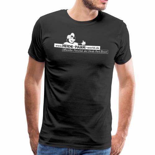 Heide-Park-world.de Basics black and white - Männer Premium T-Shirt