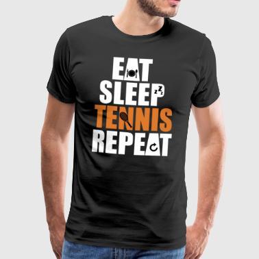tennis - Premium-T-shirt herr