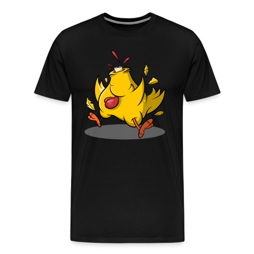 Kopflos - Verrücktes Huhn ohne Kopf - Männer Premium T-Shirt