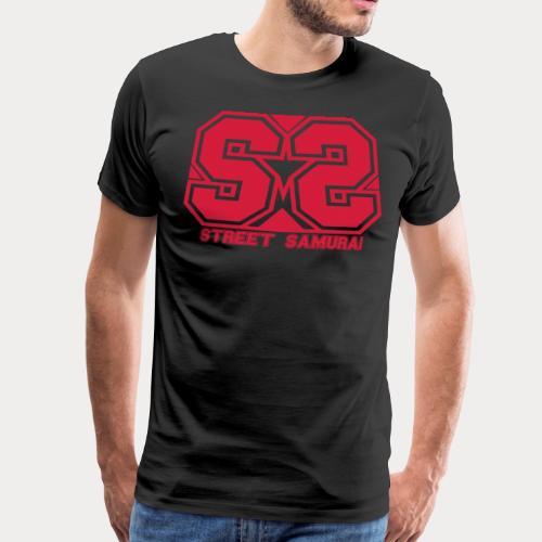 SS Streetsamurai STAR - Männer Premium T-Shirt