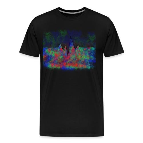 Herzfrequenz - Männer Premium T-Shirt